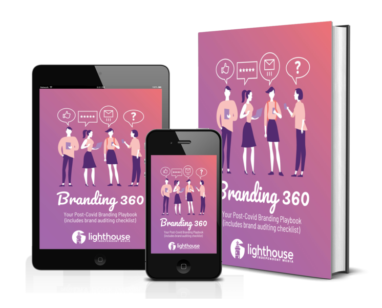 Exclusive downloadable content - Branding 360 Playbook in different formats