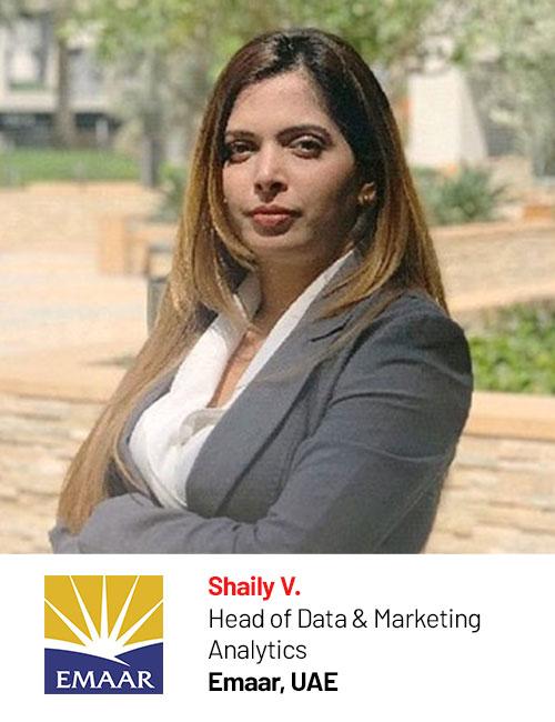 Emaar_Shaily V speaking at Digital Marketing Asia 2020