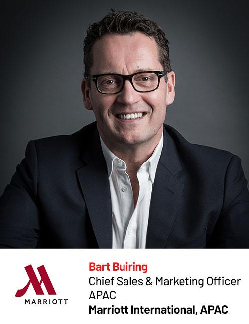 Marriott International_Bart Buiring speaking at Digital Marketing Asia 2020