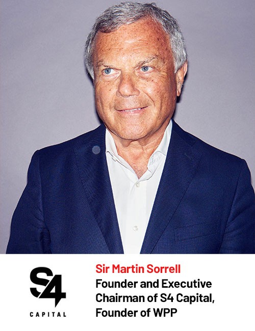 S4 Capital - Sir Martin Sorrell speaking at Digital Marketing Asia 2020