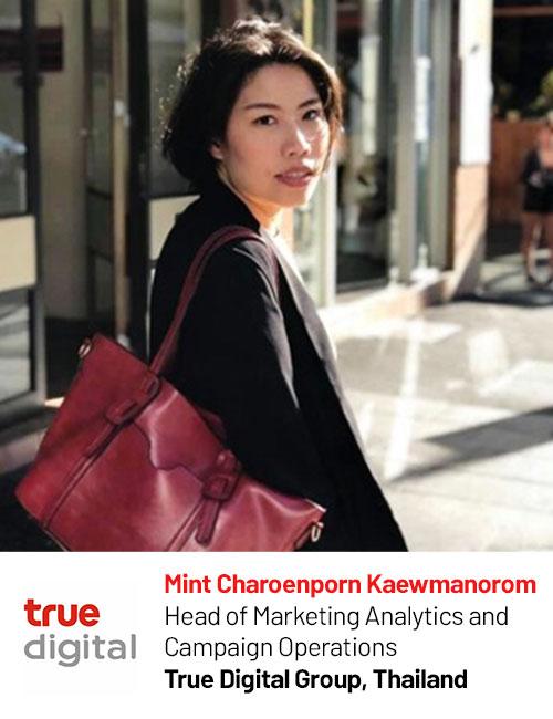 True Digital Corp_Mint Kaewmanorom speaking at Digital Marketing Asia 2020