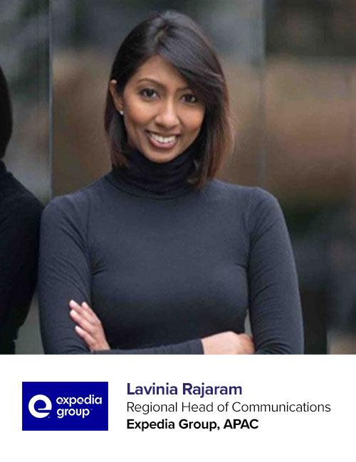 Expedia_Lavinia Rajaram speaking at PR Asia 2020