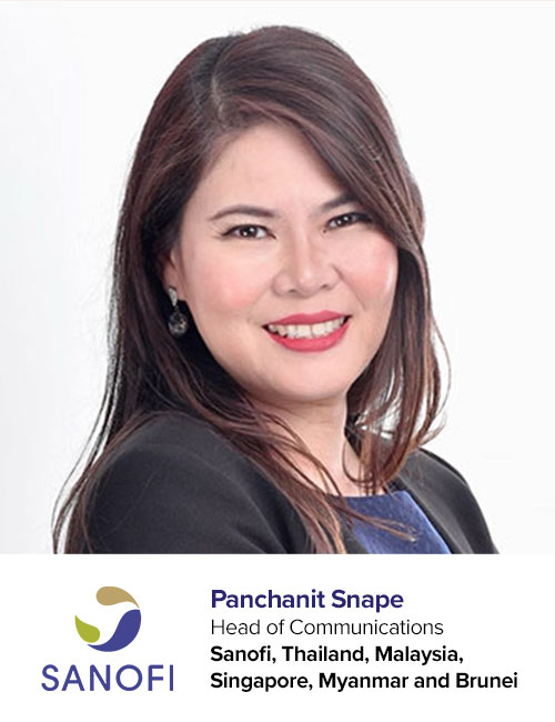 Sanofi-Panchanit Snape  speaking at PR Asia 2020